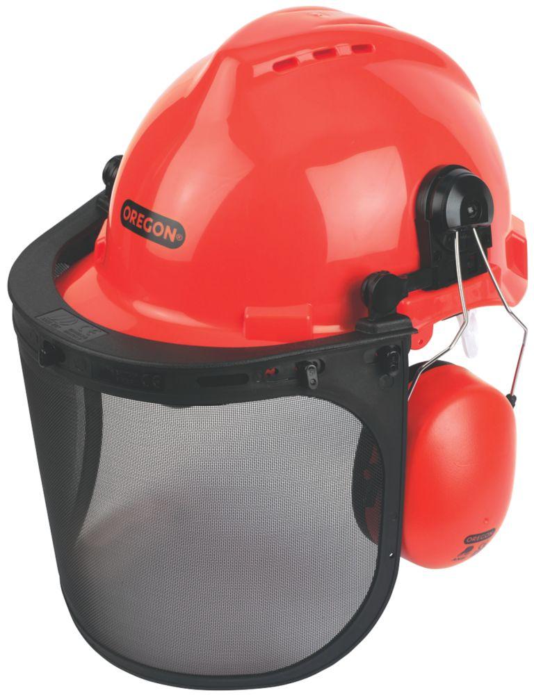 Oregon  Forestry Helmet with Ear Defenders & Visor