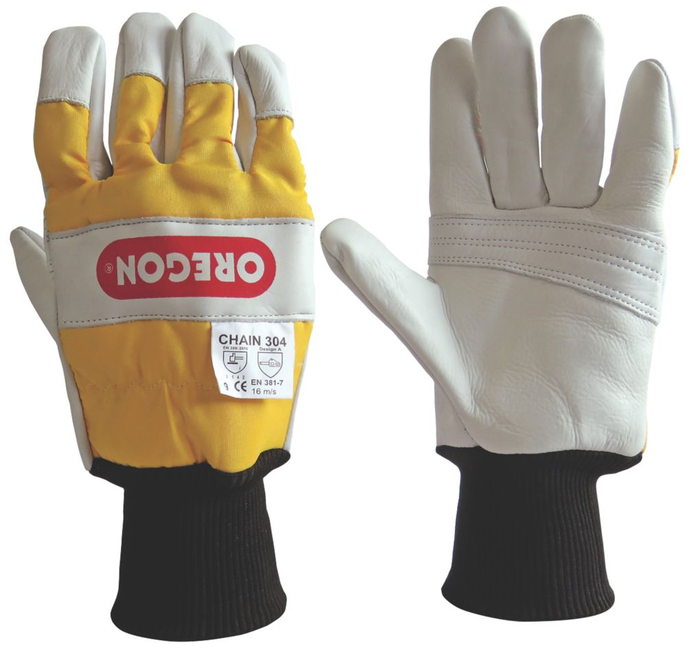 Oregon  2-Handed Protection Chainsaw Gloves X Large