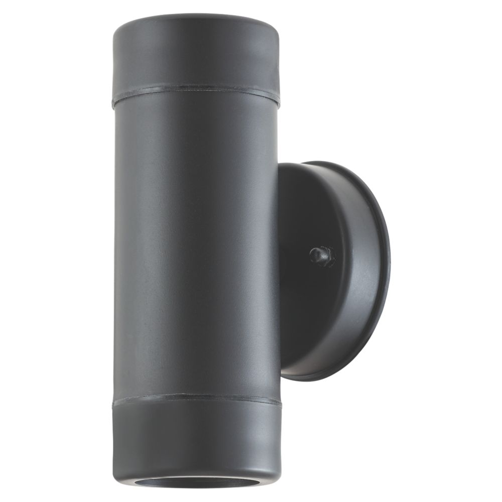LAP  Up & Down Outdoor Wall Light Black