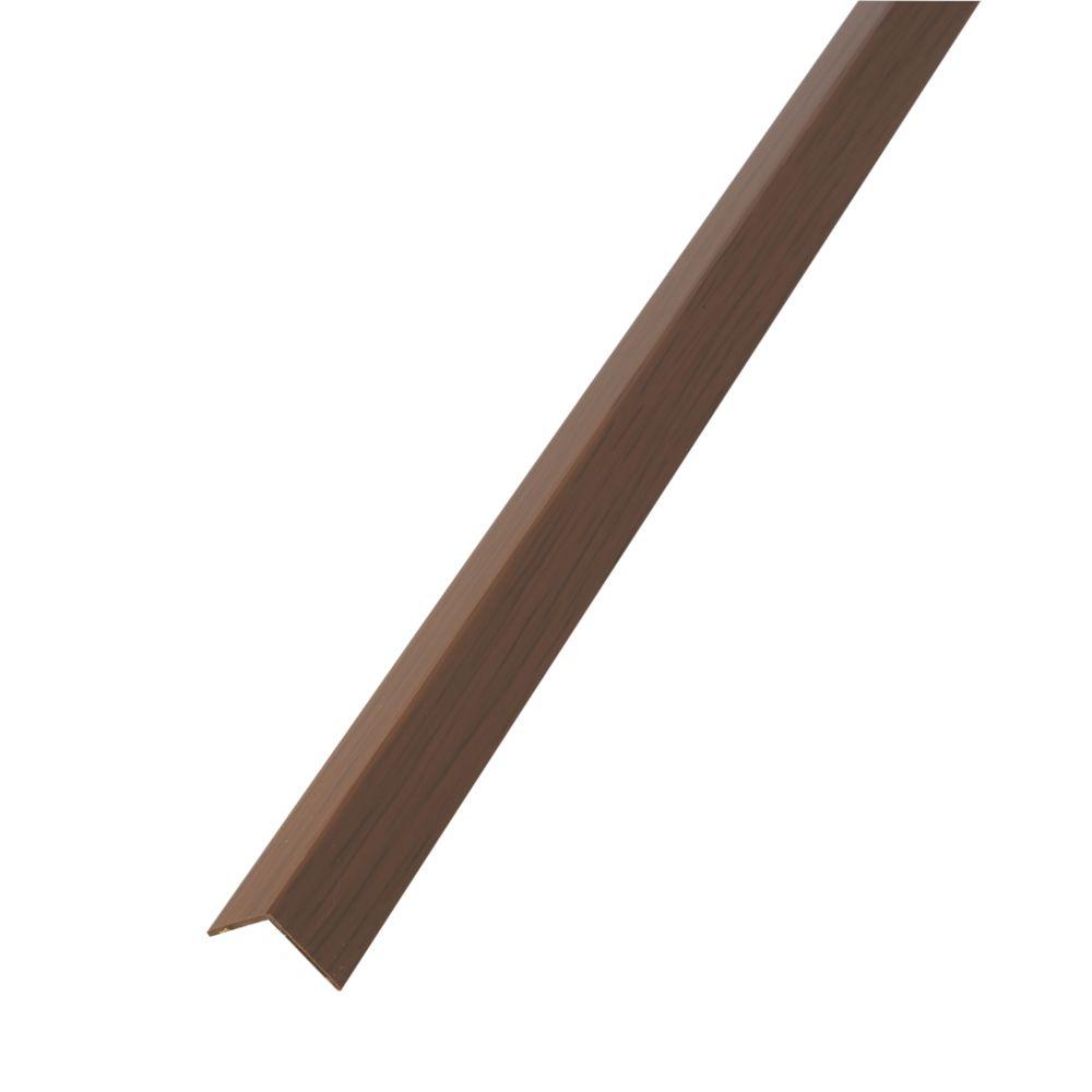 Alfer Oak-Effect PVC Equal-Sided Angle 1000 x 20 x 20mm