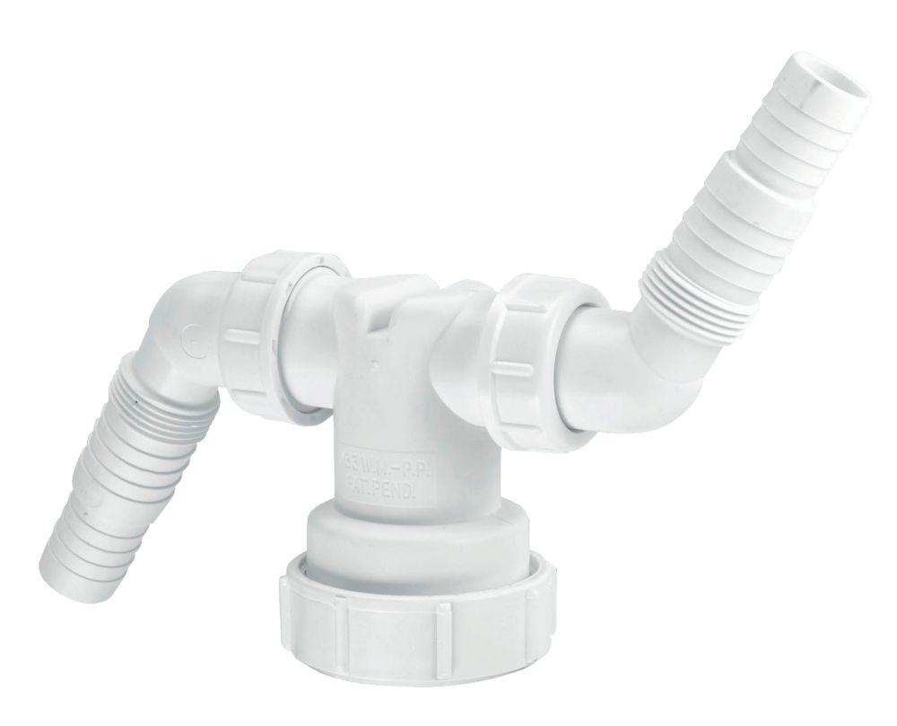 McAlpine Twin Hose Connector 40mm