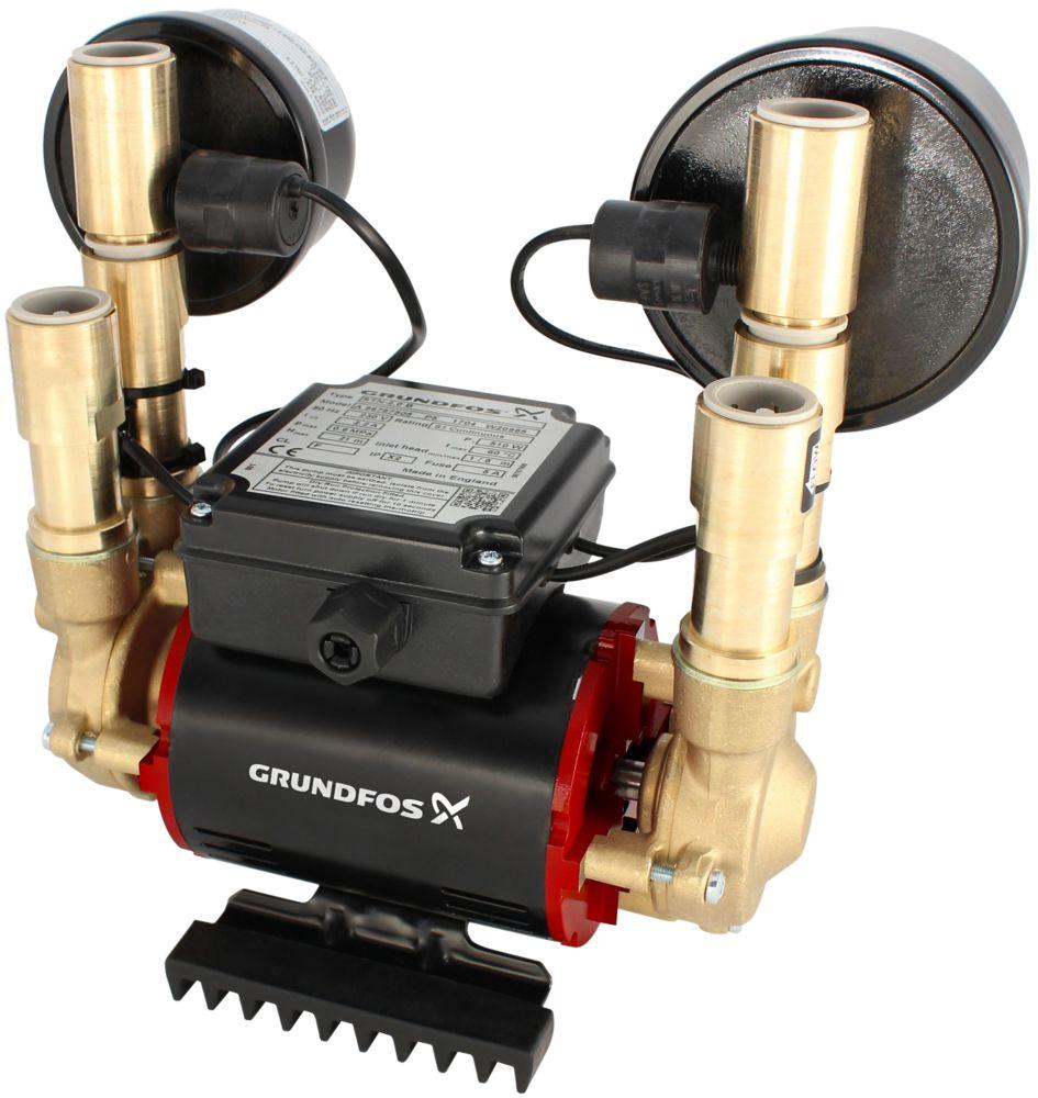 Grundfos 96788173 Regenerative Twin Shower Pump 3.0bar