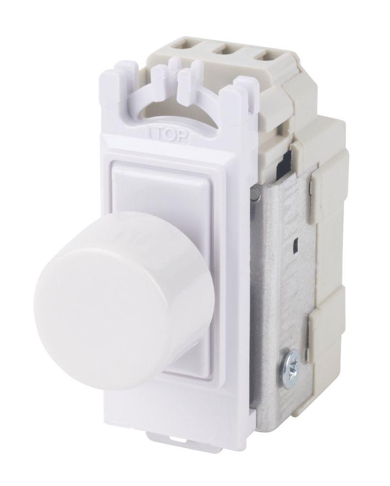 Varilight V-Pro 2-Way 120W Dimmer Switch Module White