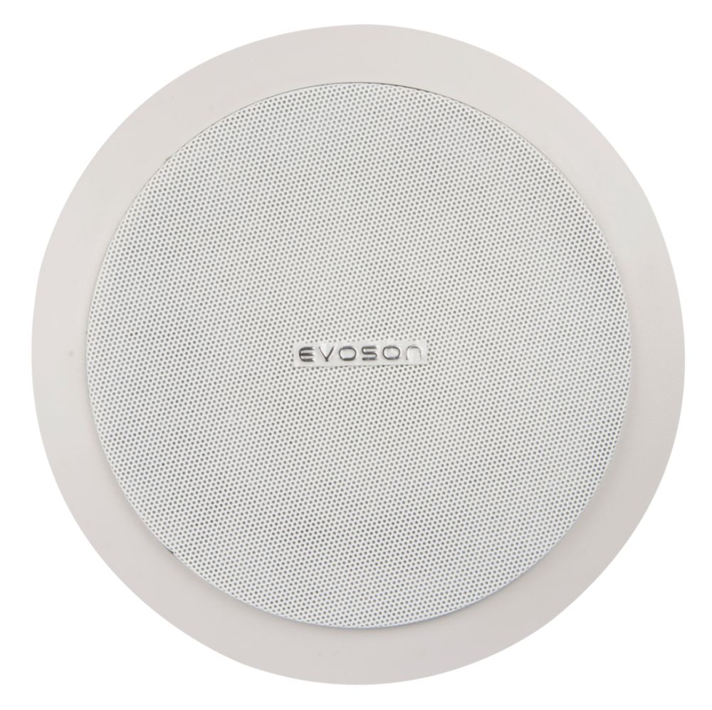 "Evoson  In-Ceiling Speaker White 9"" 6W RMS"