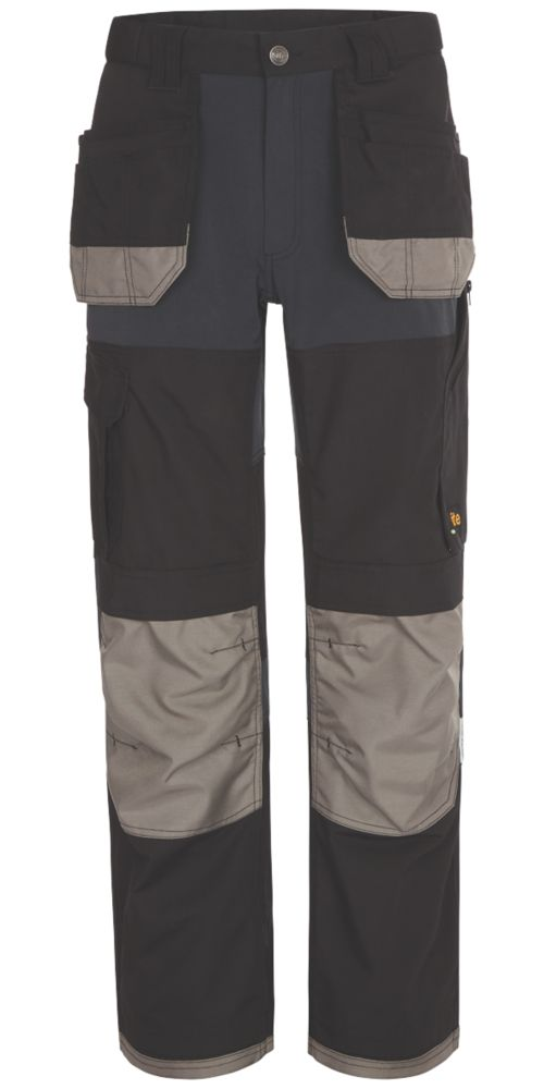 """Site Chinook Trousers Black / Grey 30"""" W 32-34"""" L"""
