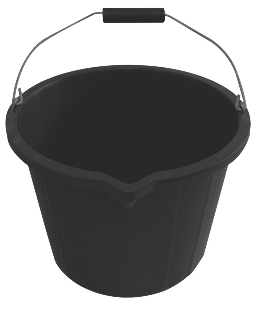 Active Plastic Buckets 14Ltr 3 Pack