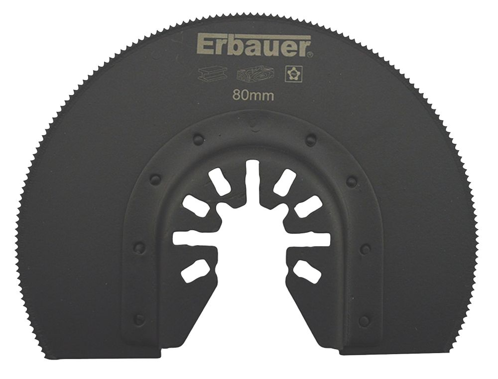 Erbauer Wood/Metal/Plastic Segmented Cutting Blade 80mm
