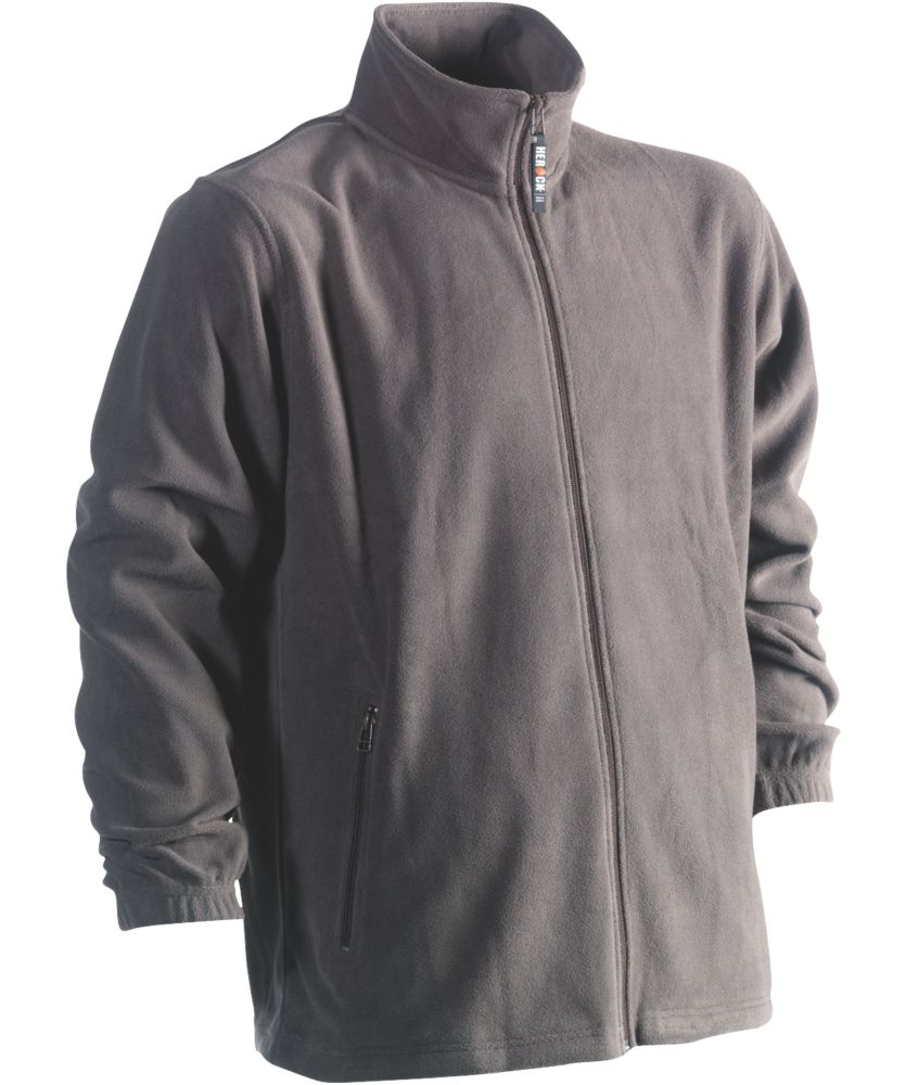 "Herock Darius Fleece Jacket Grey X Large 50½"" Chest"