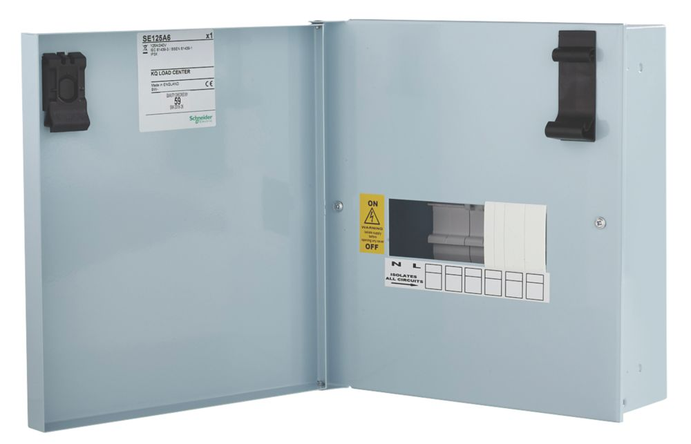 Schneider Electric KQ 6-Way Non-Metered  Distribution Board