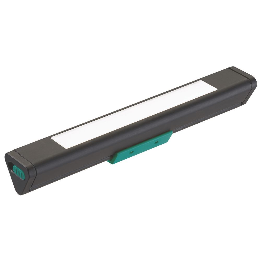 Sylvania LED Triangular Battery-Powered Striplight Black 10lm