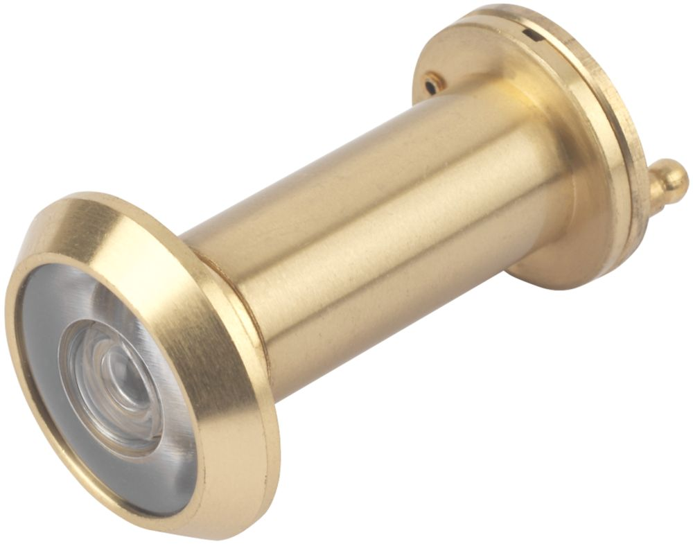 Smith & Locke Door Viewer 58mm Polished Brass