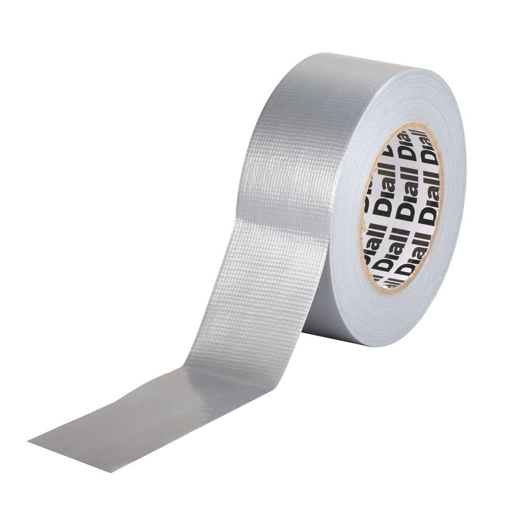 Diall Cloth Tape 42 Mesh Silver  50m x 50mm