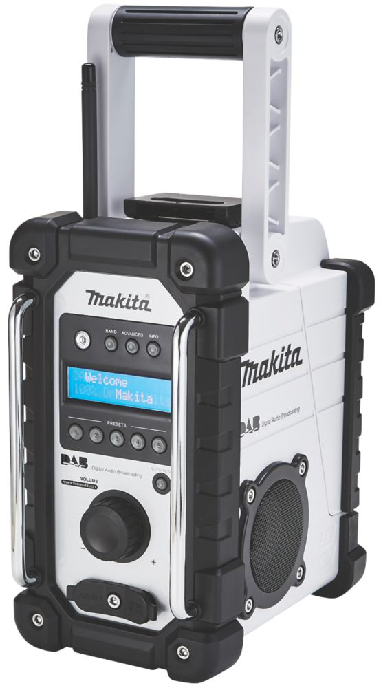 Makita DMR109W DAB / FM Electric DAB Site Radio 240V