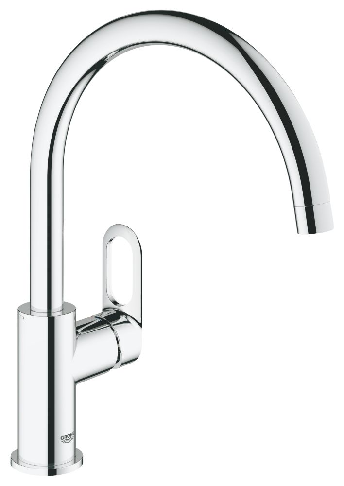 Grohe Start Loop Mono Mixer Kitchen Tap Chrome