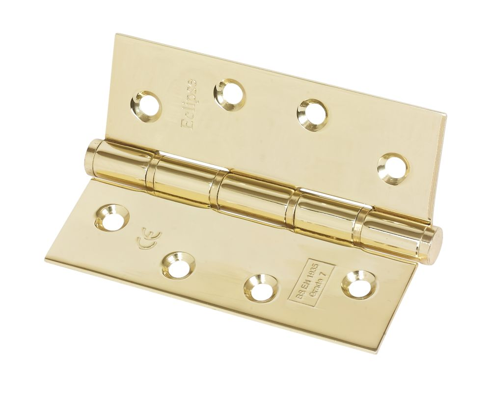 Eclipse Grade 7 Washered Fire Hinge Fire Rated 102 x 76mm 2 Pack