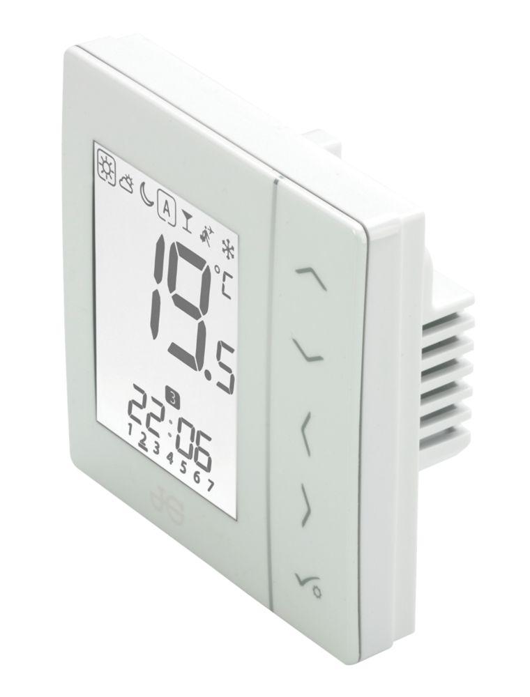 JG Speedfit JGSTAT2W 4-in-1 Thermostat & Hot Water Control White 230V