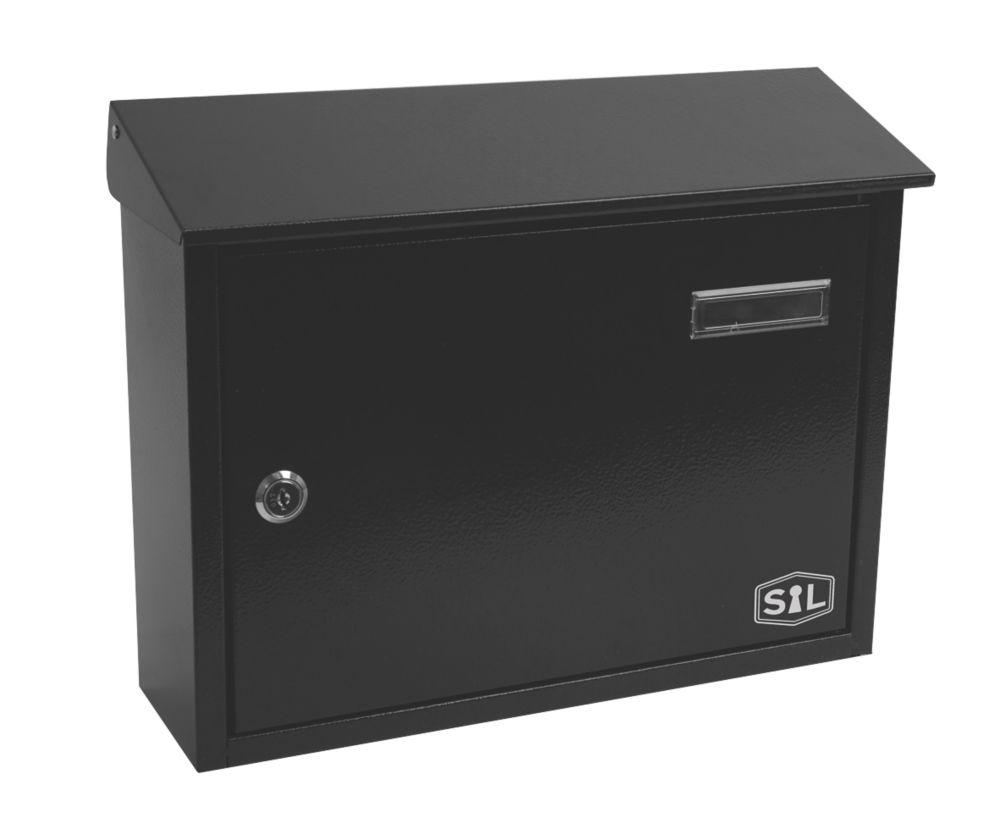 Smith & Locke Post Box Black Powder-Coated
