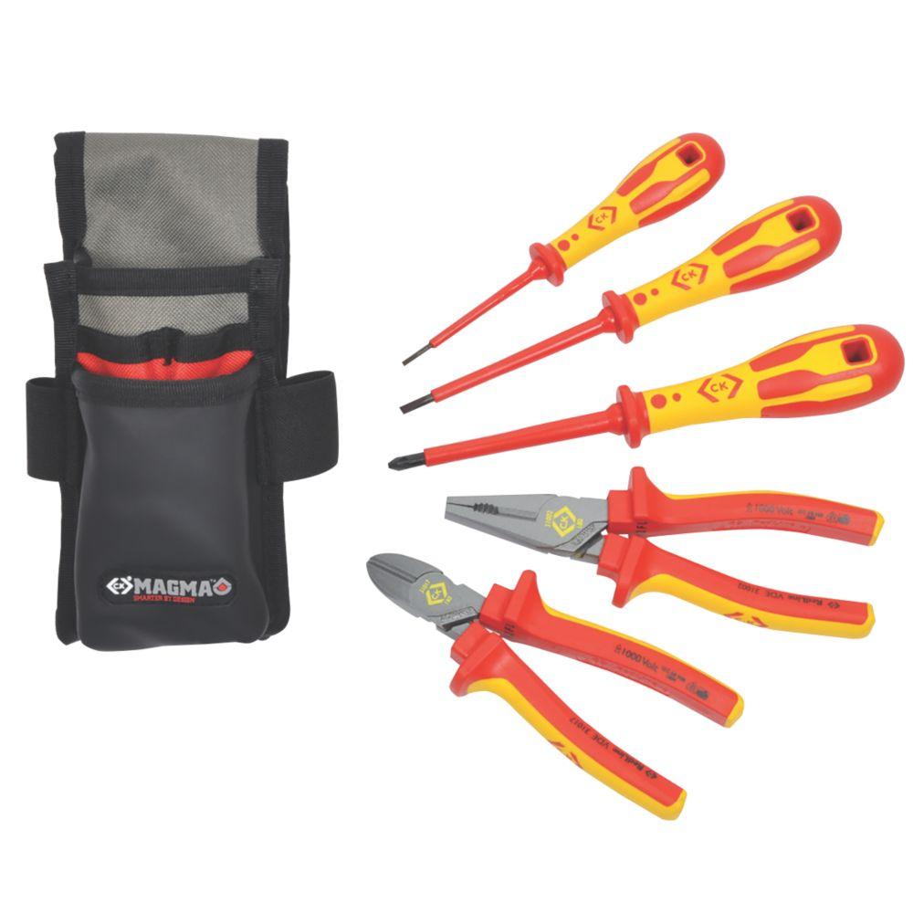 C.K  Electricians Core Tool Kit 5 Piece Set