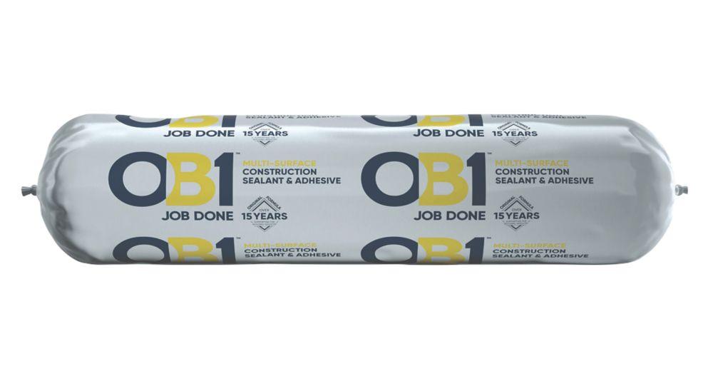 OB1  Multi-Surface Sealant & Adhesive White 400ml