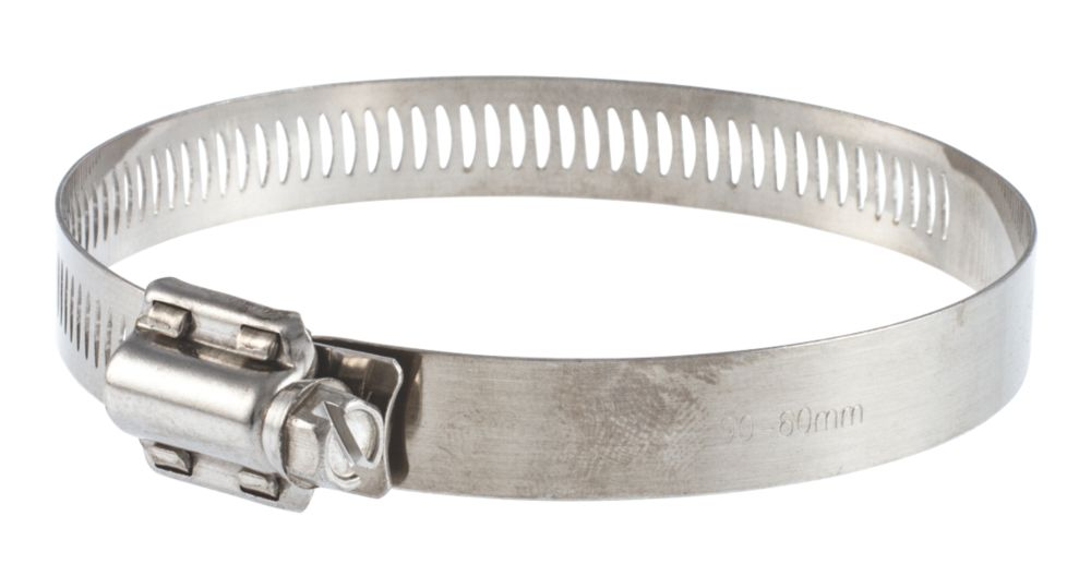 T-mex Stainless Steel Worm Drive Hose Clips 70-120mm 10 Pack