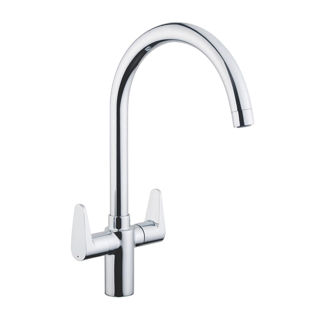 Cooke & Lewis  Mono Mixer Kitchen Tap Chrome