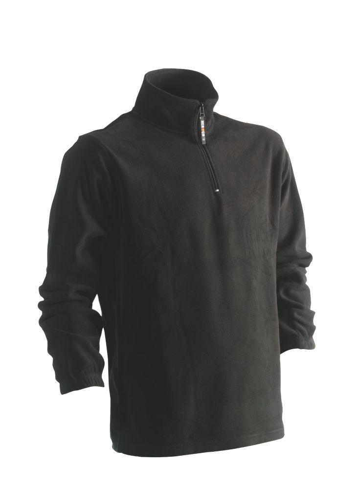 "Herock Antalis Fleece Sweatshirt Black Large 47"" Chest"