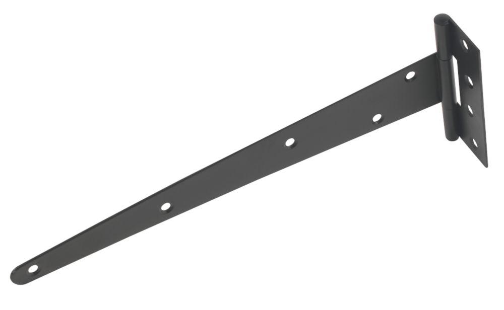 Medium Duty Tee Hinges Black 305mm 2 Pack