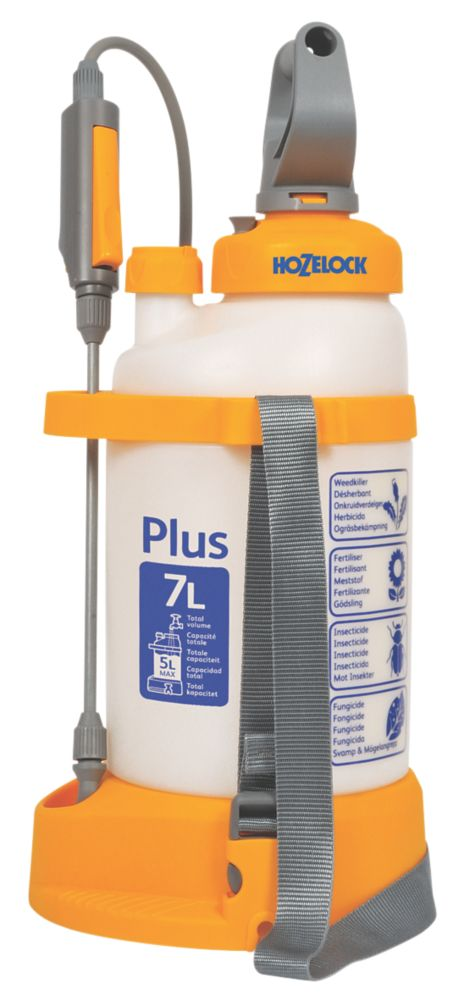 Hozelock Plus Translucent Pressure Sprayer 7Ltr