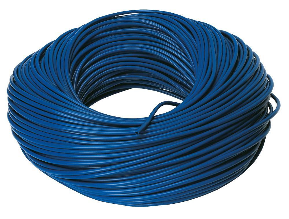 CED PVC Sleeving 3mm x 100m Blue