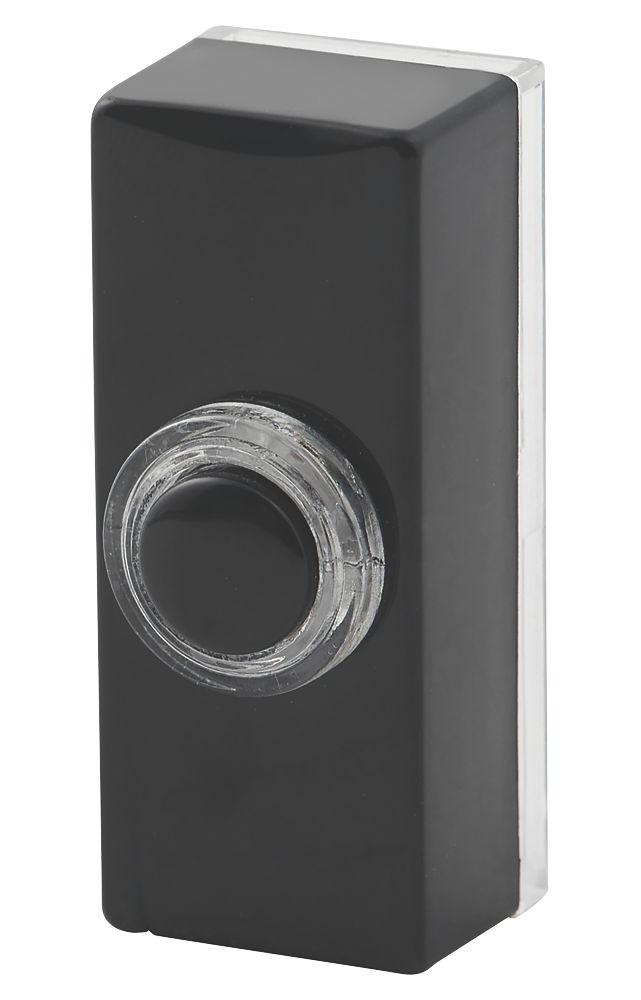 Blyss  Wired Doorbell Bell Push Black