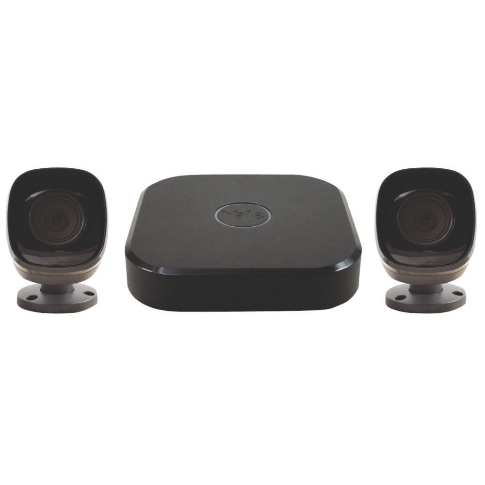 Yale SV-4C-2ABFX 4-Channel HD CCTV System & 2 Cameras