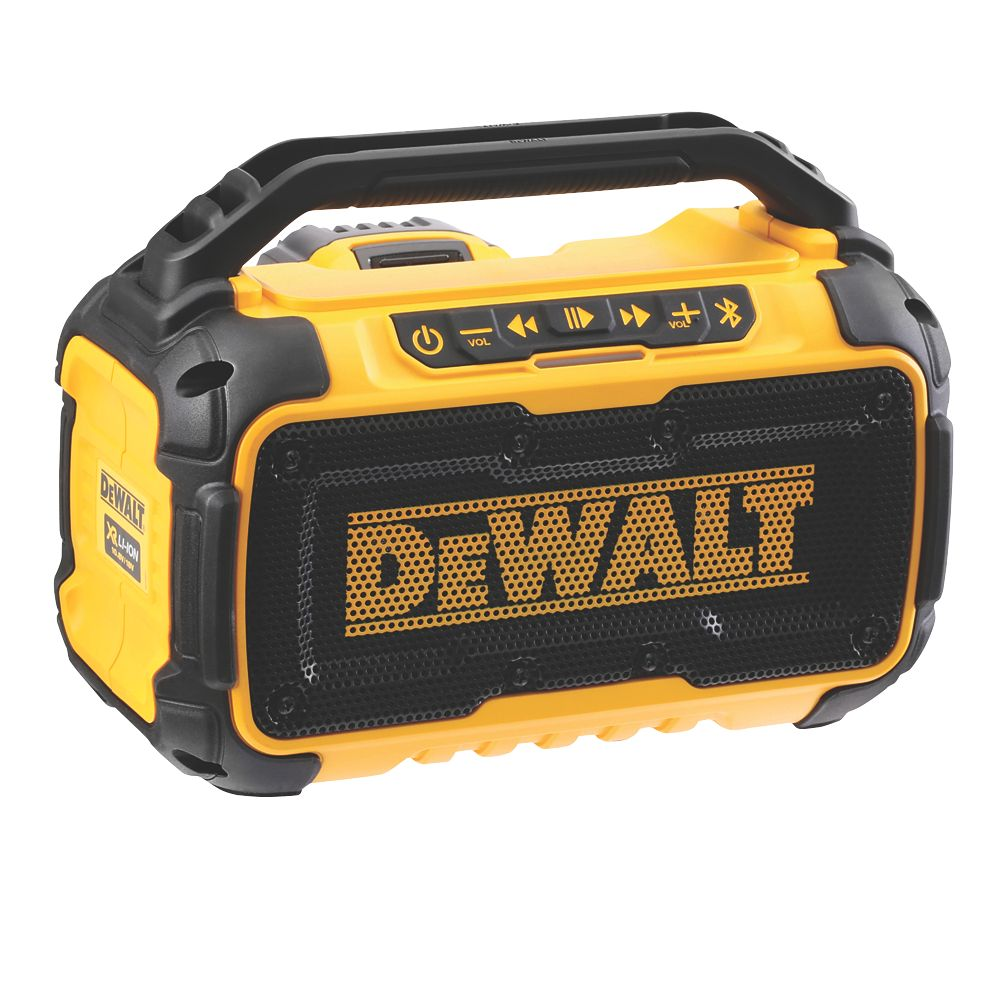 DeWalt DCR011-XJ 18V Li-Ion XR Cordless Bluetooth Speaker - Bare
