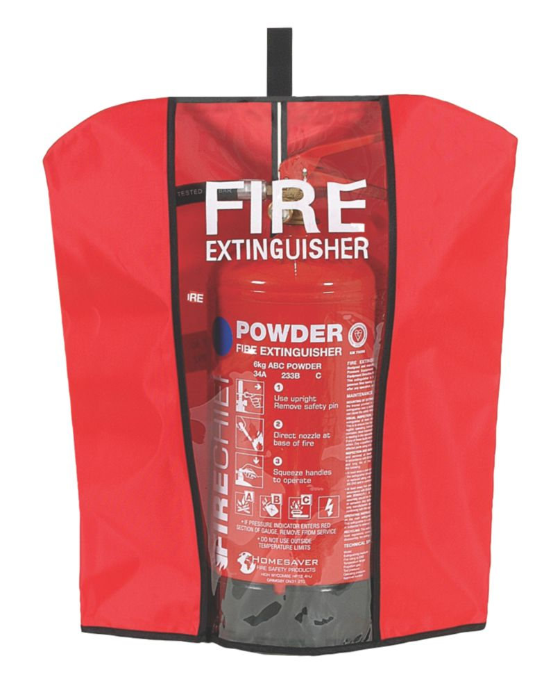Firechief Fire Extinguisher Cover Medium 6Ltr 6Ltr