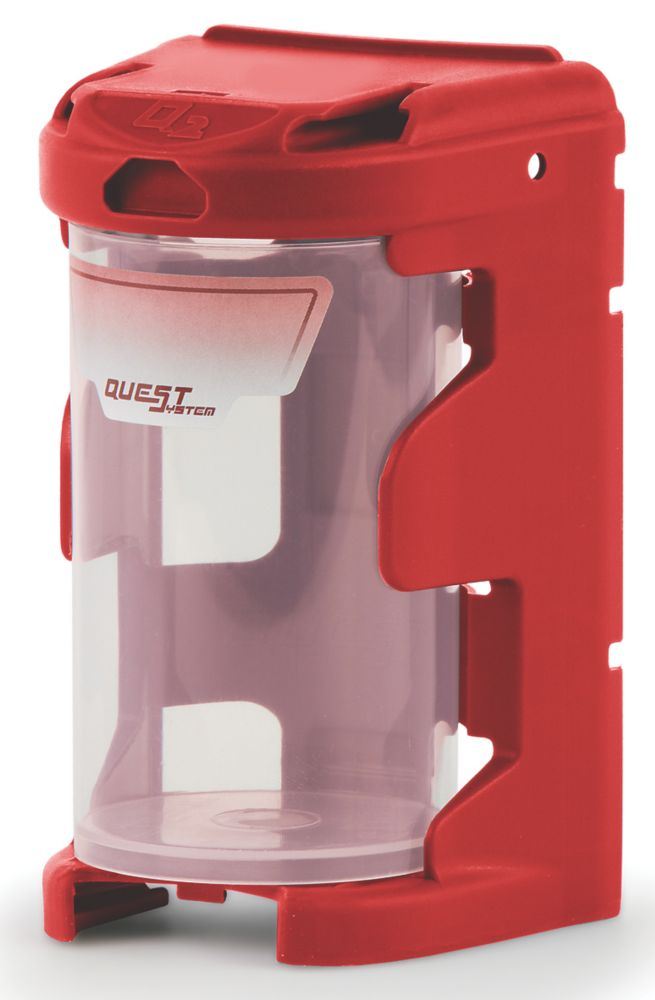 Q2 Modular Organiser Bin Red