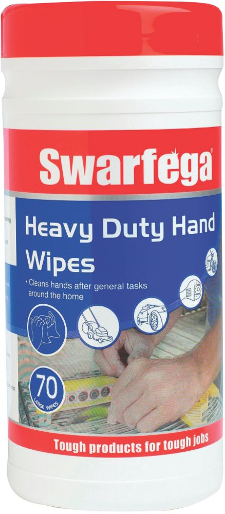 Swarfega Heavy Duty Hand Wipes 70 Pack