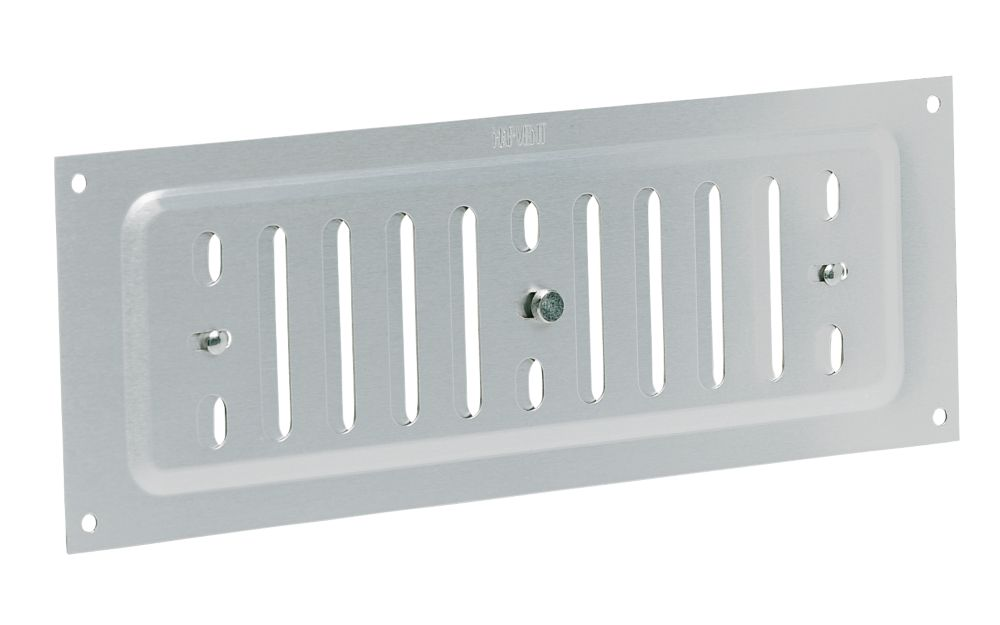 Map Vent Adjustable Vent Silver 229 x 76mm
