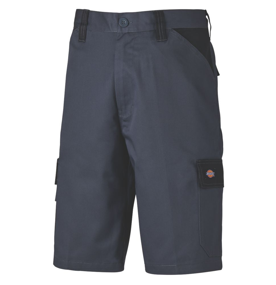 "Dickies Everyday Work Shorts Grey 40"" W"