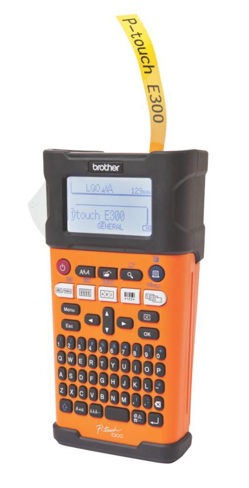 Brother PT-E300VP Hand-Held Label Printer