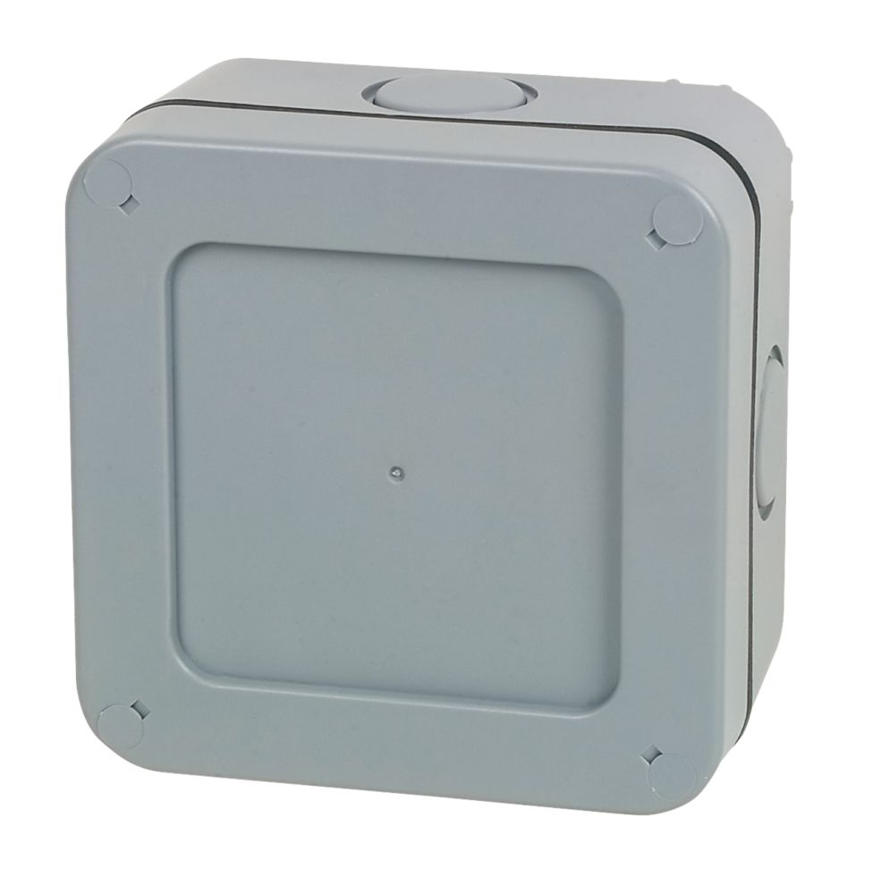 British General  IP66 57A 5-Terminal Weatherproof Outdoor Junction Box 90 x 60 x 60mm