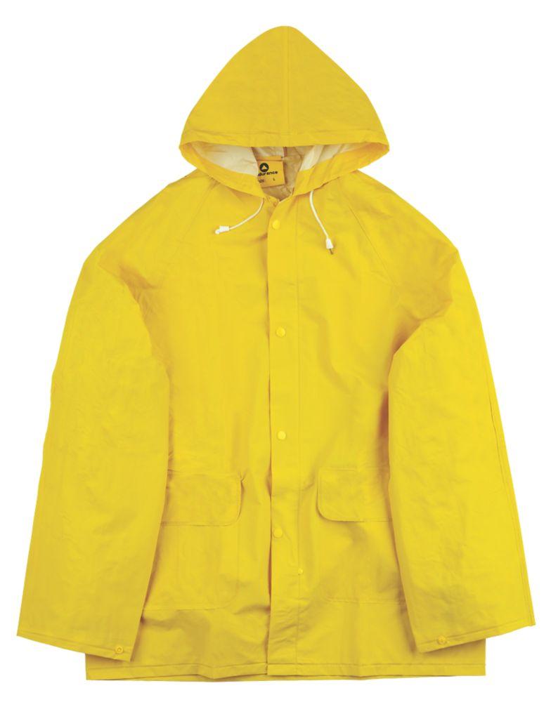 "Endurance Rainmaster 2-Piece Waterproof Rain Suit Yellow Large 42-44"" Chest"