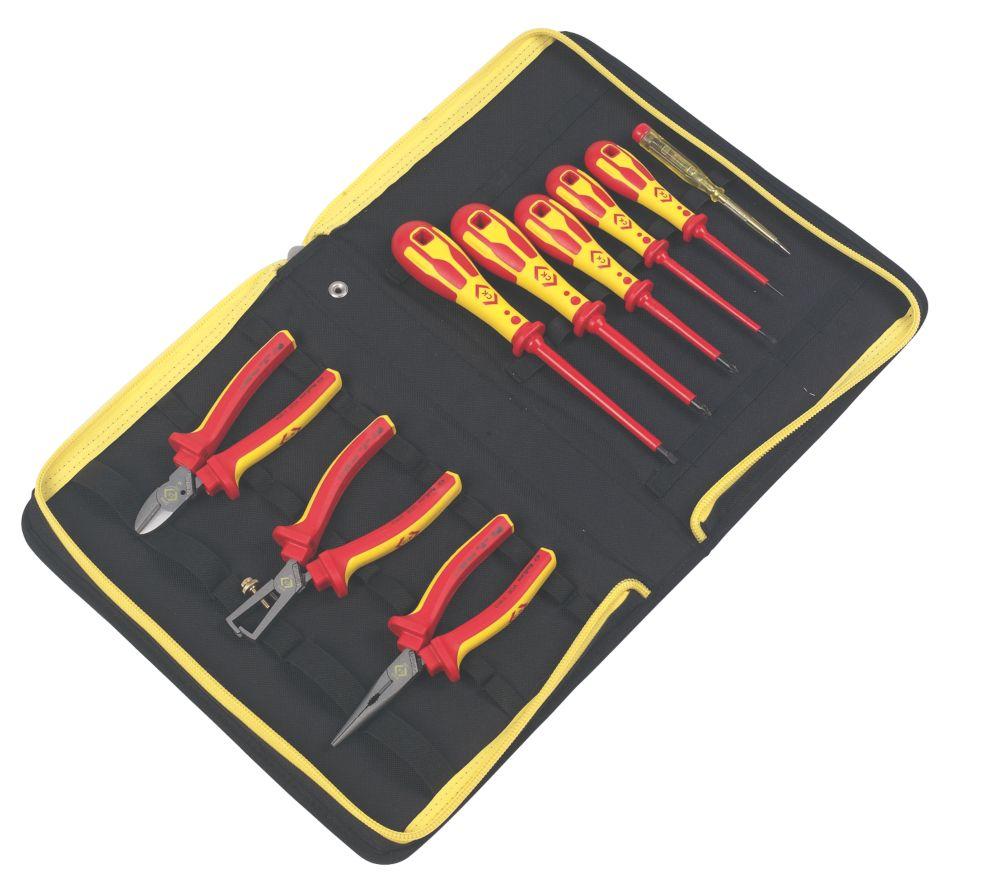 C.K  VDE Pliers & Screwdriver Kit 10 Piece Set