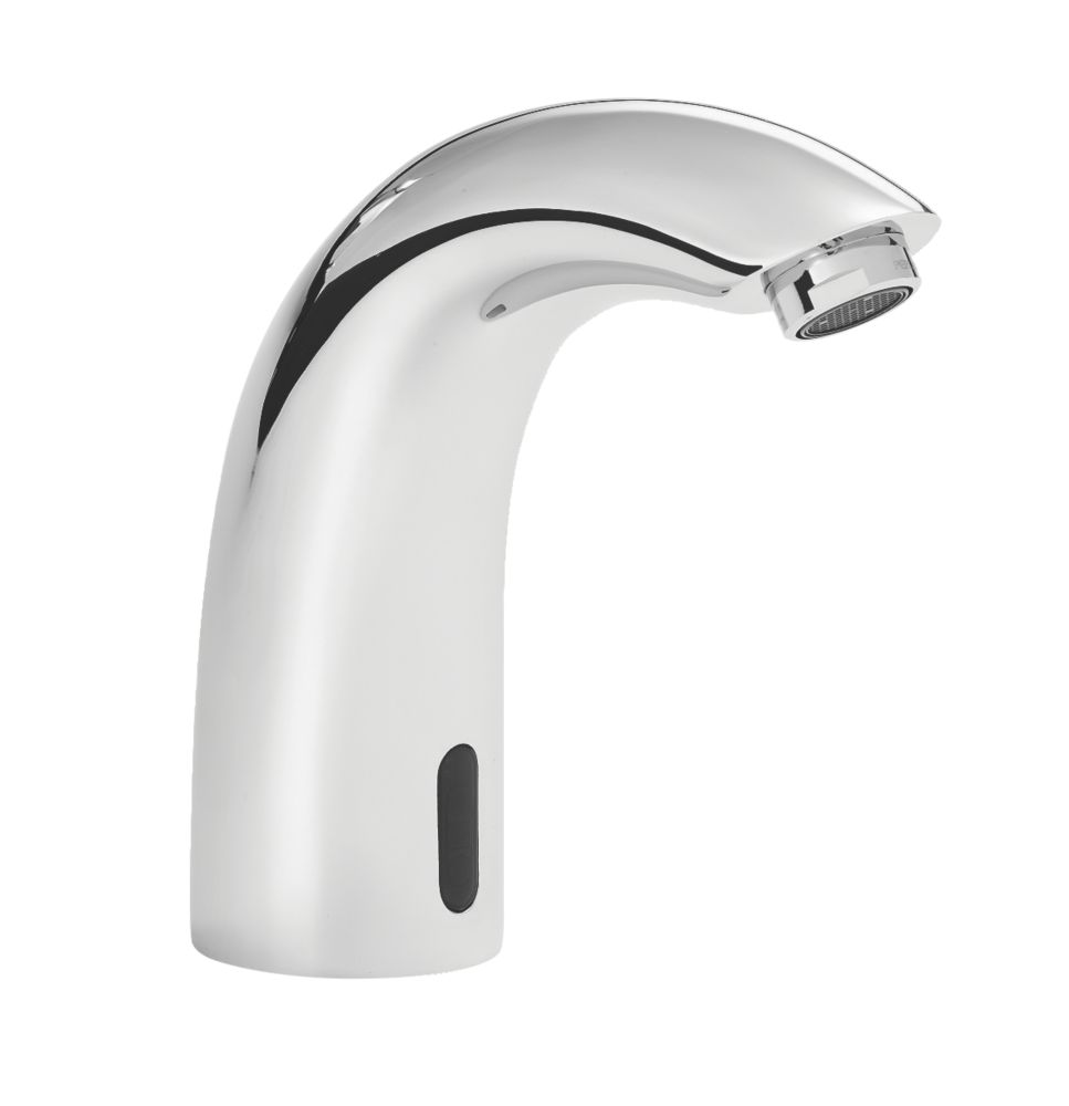 Bristan Timed Flow Touch-Free Bathroom Basin Spout & Infrared Sensor Chrome