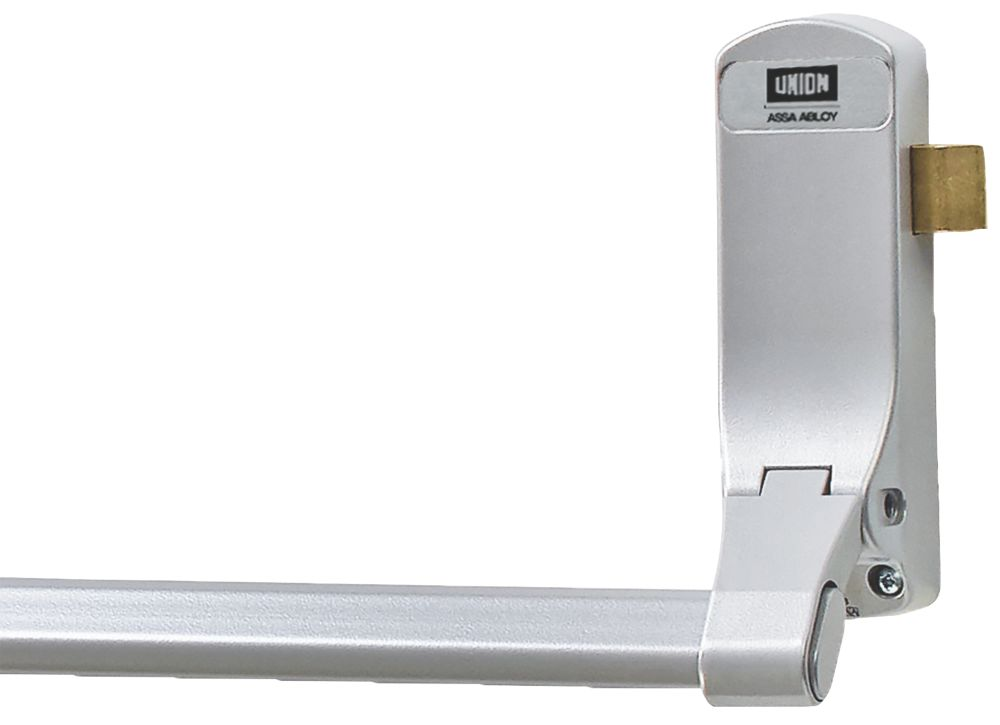 Union J-CE853PL-SIL Single Panic Latch for Timber Doors