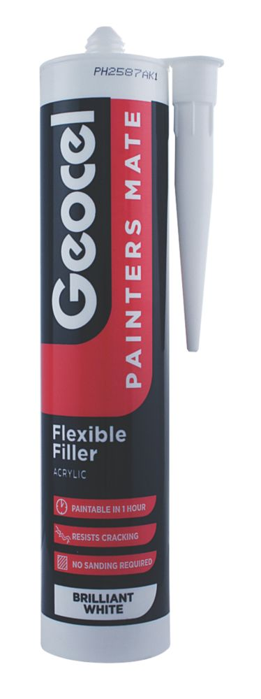 Geocel Painters Mate Flexible Acrylic Filler White 310ml