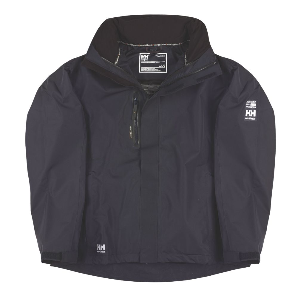 "Helly Hansen Haag Waterproof Jacket Navy Large 41-42½"" Chest"