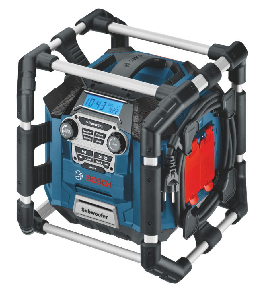 Bosch GML20 AM / FM Electric Jobsite Radio 240V