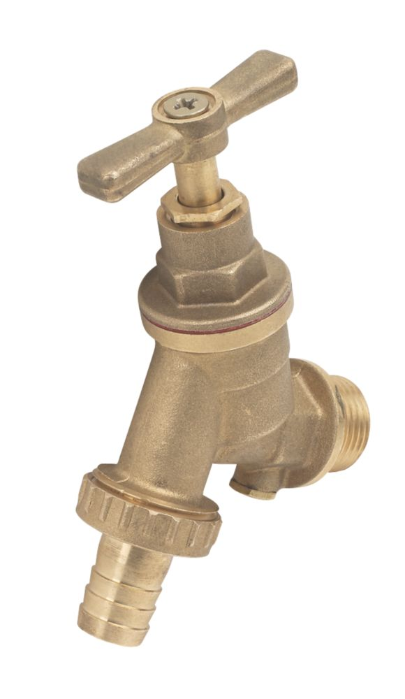 Outside Tap with Double Check Valve 15mm x ½""