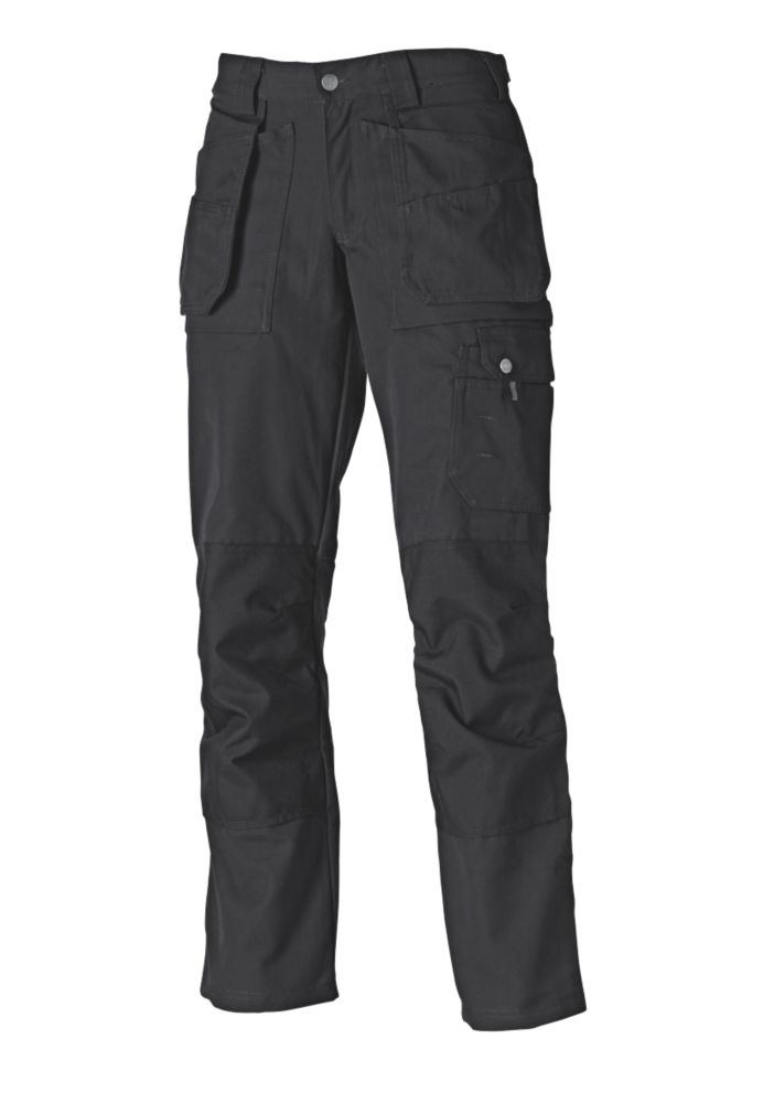 "Dickies Eisenhower Multi-Pocket Ladies Trousers  Size 10 32"" L"