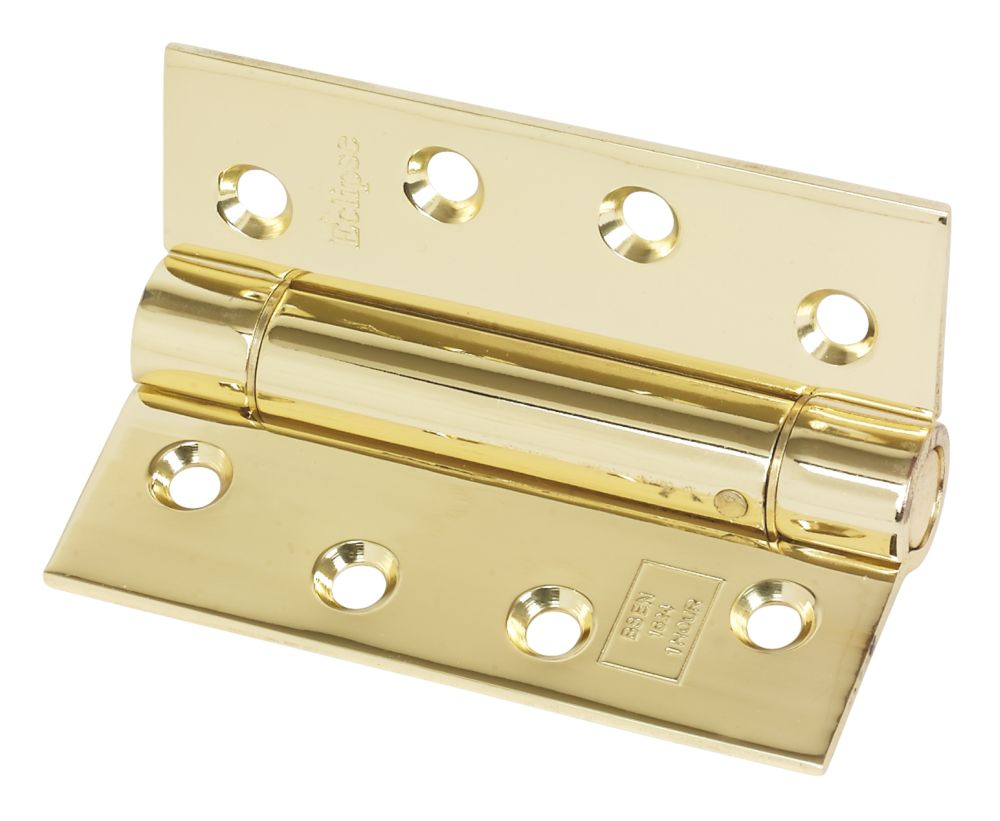 Eclipse Adjustable Self-Closing Hinge Fire Rated 102 x 76mm 2 Pack