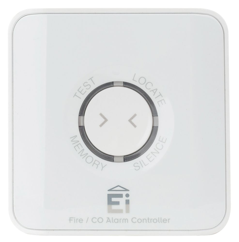 Aico Wireless Smoke & CO Alarm Controller White